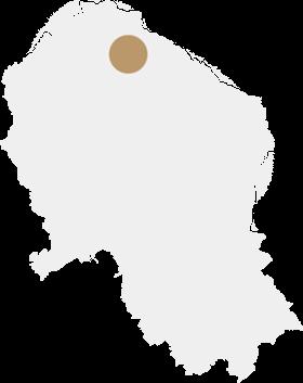 Mapa valle pedroches