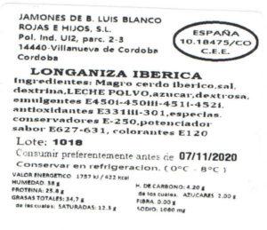 Longaniza iberica