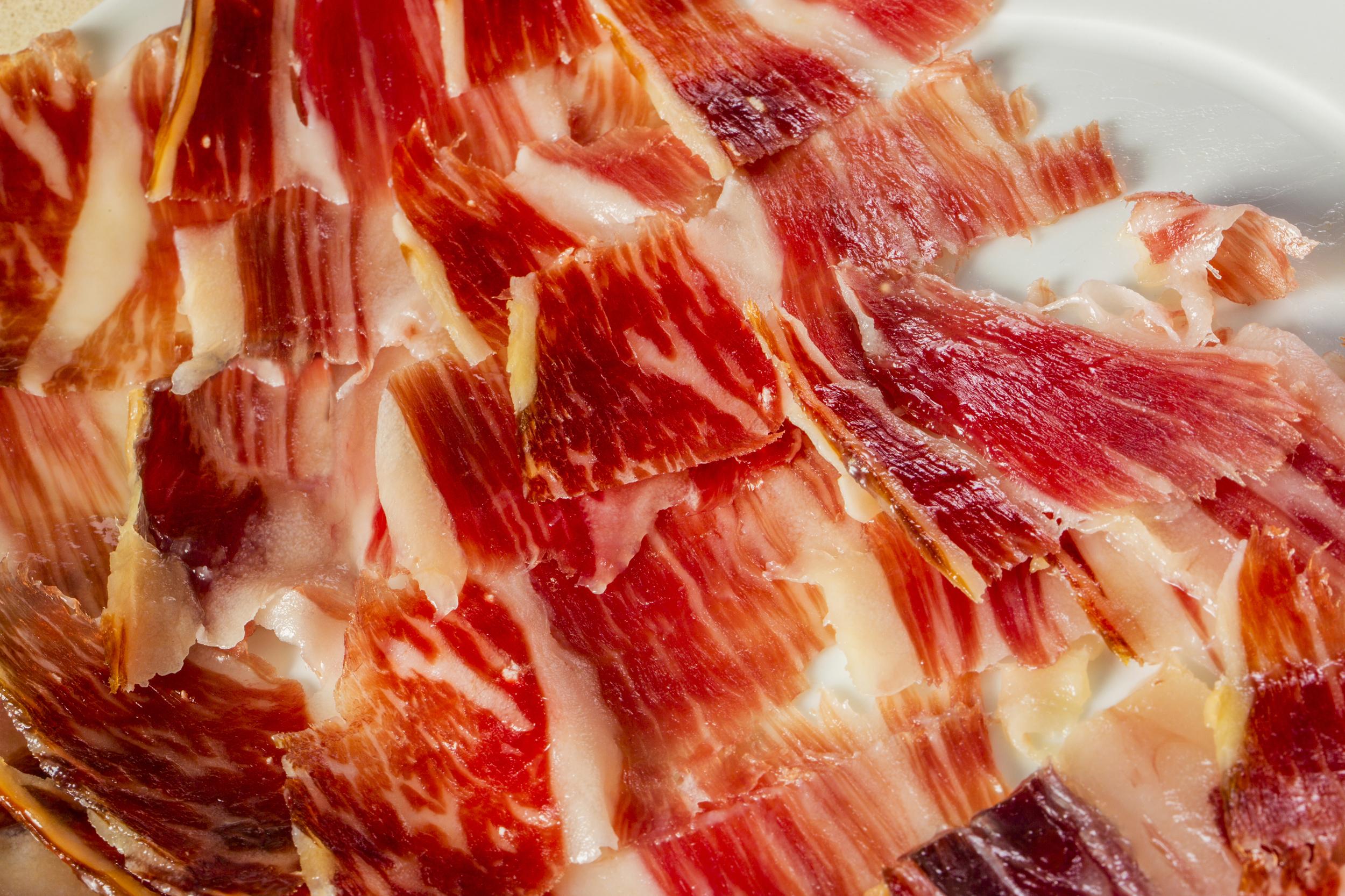 Degustación de jamón ibérico de bellota