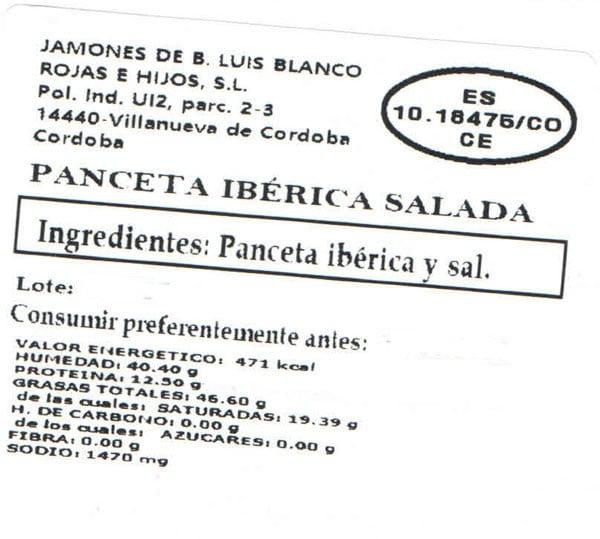 Panceta iberica salada 2